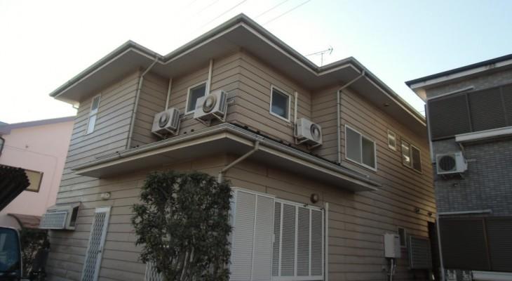相模原市のY様邸 木造一戸建て|外壁塗装(断熱セラミックガイナ使用)