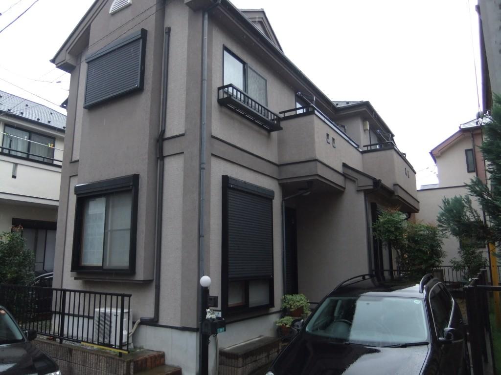 相模原市のU様邸 木造一戸建て|外壁塗装(ナノコンポジットW使用)