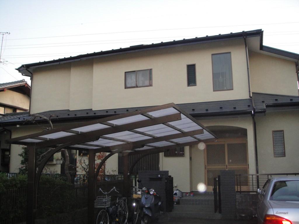 相模原市のA様邸 木造一戸建て|外壁・屋根塗装(ナノコンポジット使用)