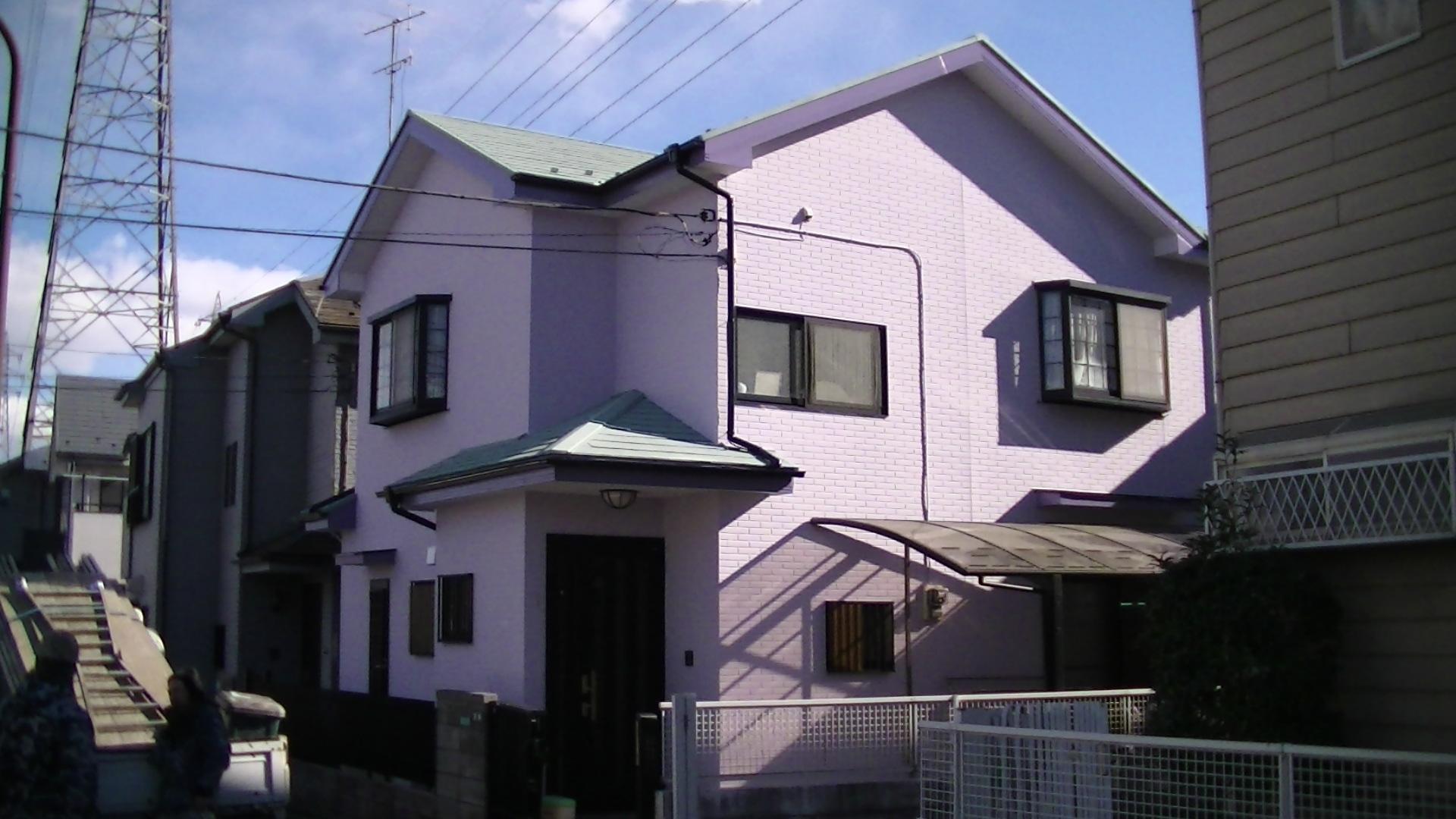 外壁・屋根・付帯部の塗装工事|神奈川相模原市I様邸の塗り替えリフォーム