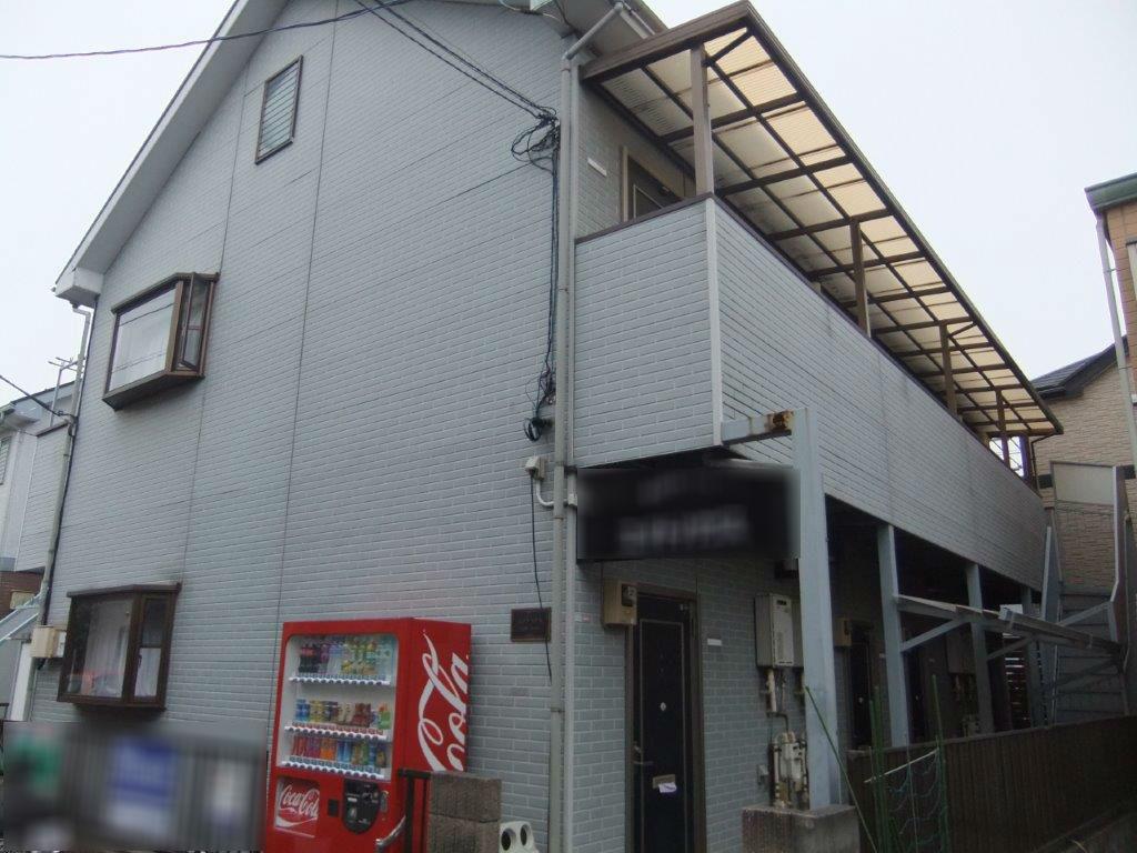 外壁・屋根・付帯部の塗装工事|神奈川相模原市南区のEアパートの塗り替えリフォーム