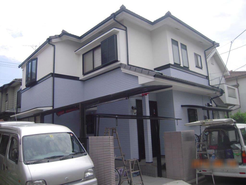 外壁・屋根の塗装工事|相模原市南区のS様邸の塗り替えリフォーム